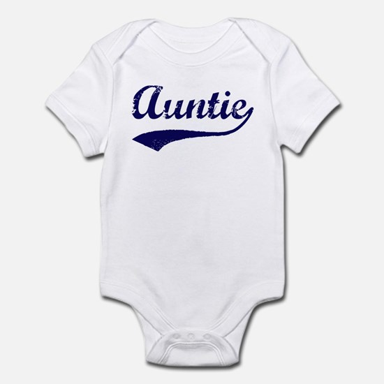 Vintage (Blue) Auntie Infant Bodysuit