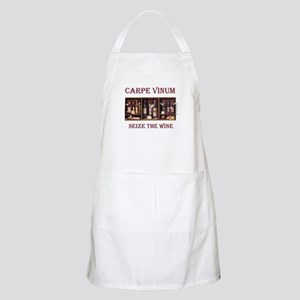 Carpe Vinum -Seize the Wine BBQ Apron