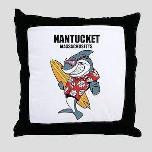 Nantucket, Massachusetts Throw Pillow