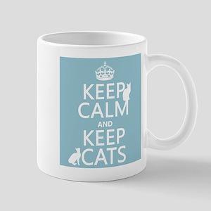 Keep Calm and Keep Cats Mug