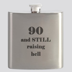 90 still raising hell 3 Flask