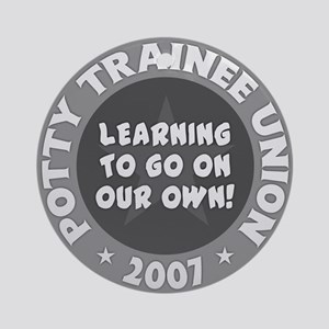 Potty Trainee Union Ornament (Round)