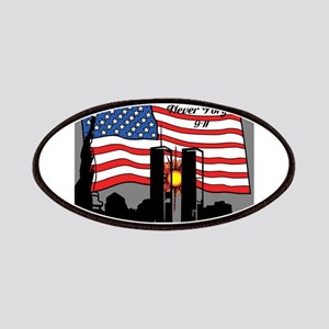 Never Forget 9-11 Patches