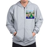 Movie Casting Zip Hoodie