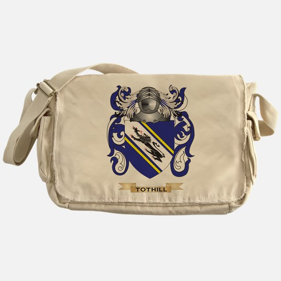 Tothill Family Crest (Coat of Arms) Messenger Bag