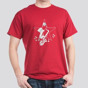 Retro Saxaphone Dark T-Shirt