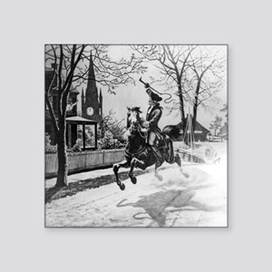 The Midnight Ride of Paul Revere Sticker