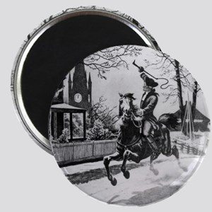 The Midnight Ride of Paul Revere Magnets