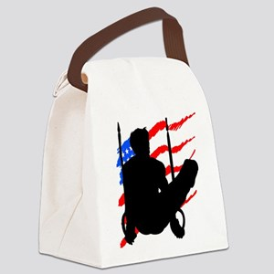 SUPER STAR GYMNAST Canvas Lunch Bag