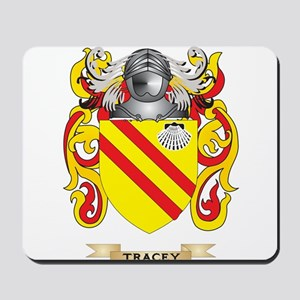 Tracey Family Crest (Coat of Arms) Mousepad