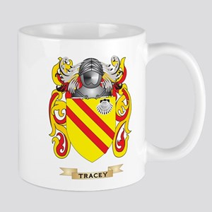 Tracey Family Crest (Coat of Arms) Mugs