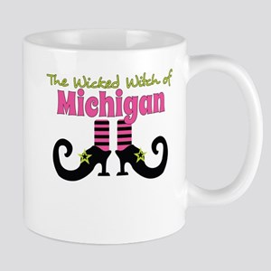 Wicked Witch of Michigan Mugs