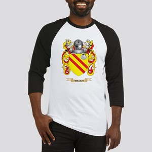 Tracy Family Crest (Coat of Arms) Baseball Jersey