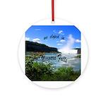Niagara Falls elopement Ornament (Round)