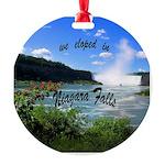 Niagara Falls elopement Ornament
