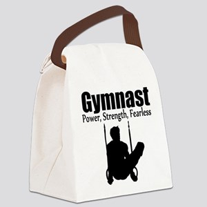POWER GYMNAST Canvas Lunch Bag