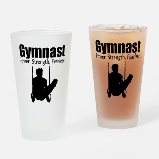 POWER GYMNAST Drinking Glass