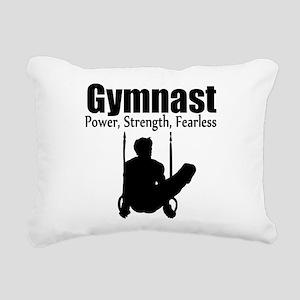 POWER GYMNAST Rectangular Canvas Pillow