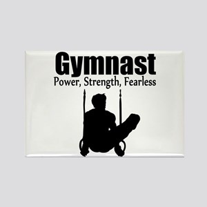POWER GYMNAST Rectangle Magnet