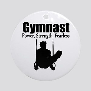 POWER GYMNAST Ornament (Round)