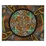 Celtic Aperture Mandala King Duvet Cover