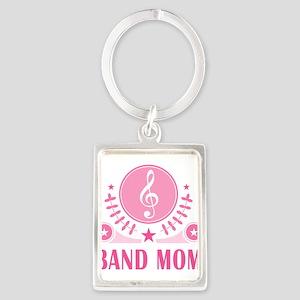 Band Mom vintage Portrait Keychain