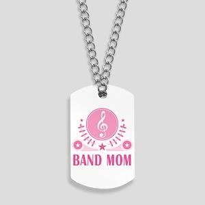 Band Mom vintage Dog Tags