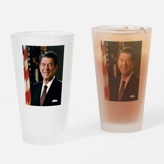 President Reagan Drinking Glass