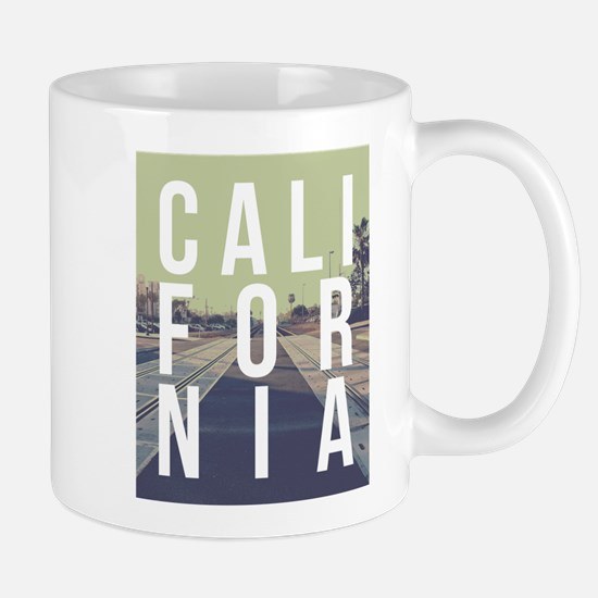 California Train Tracks Mugs