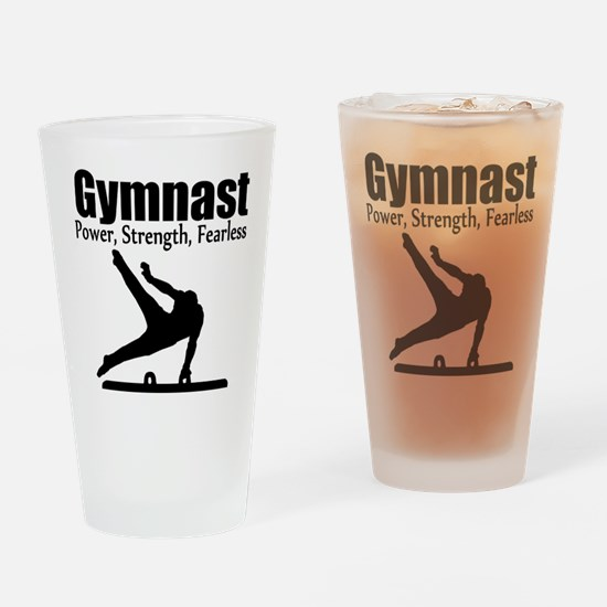 AWESOME GYMNAST Drinking Glass