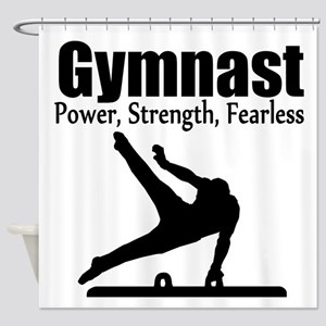 AWESOME GYMNAST Shower Curtain