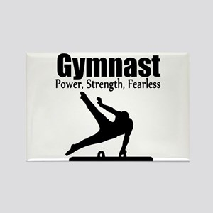 AWESOME GYMNAST Rectangle Magnet