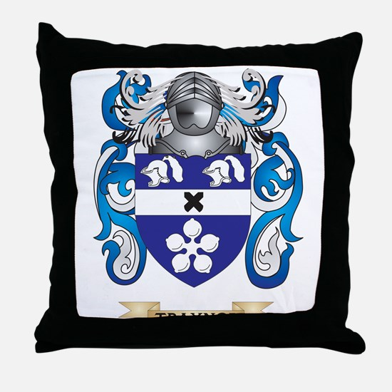 Traynor Family Crest (Coat of Arms) Throw Pillow