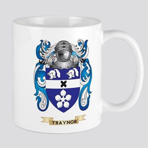 Traynor Family Crest (Coat of Arms) Mugs