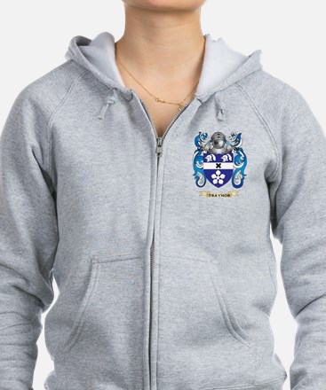 Traynor Family Crest (Coat of Arms) Zip Hoodie