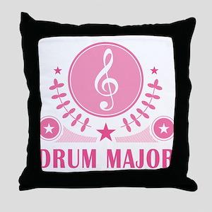 Drum Major vintage Throw Pillow