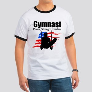 CHAMPION GYMNAST Ringer T