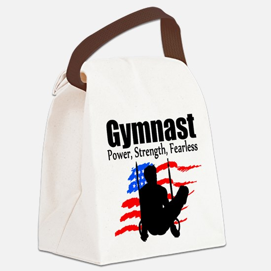CHAMPION GYMNAST Canvas Lunch Bag