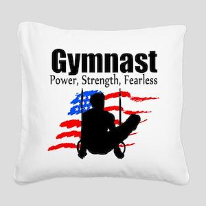 CHAMPION GYMNAST Square Canvas Pillow