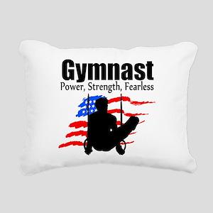 CHAMPION GYMNAST Rectangular Canvas Pillow