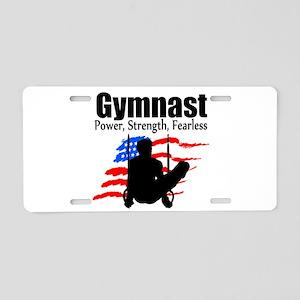 CHAMPION GYMNAST Aluminum License Plate
