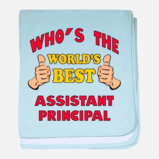 World's Best Assistant Principal (Thumbs Up) baby