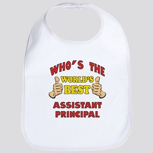 World's Best Assistant Principal (Thumbs Up) Bib