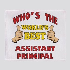 World's Best Assistant Principal (Thumbs Up) Throw