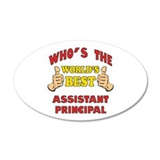 World's Best Assistant Principal (Thumbs Up) Wall Decal