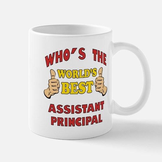 World's Best Assistant Principal (Thumbs Up) Mug
