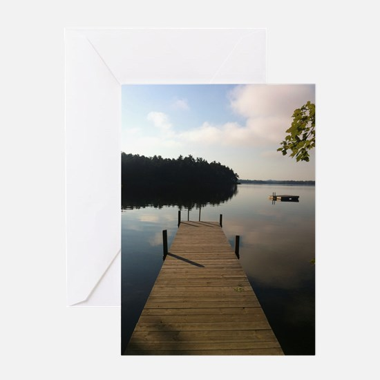 Meet Me on the Dock Greeting Cards