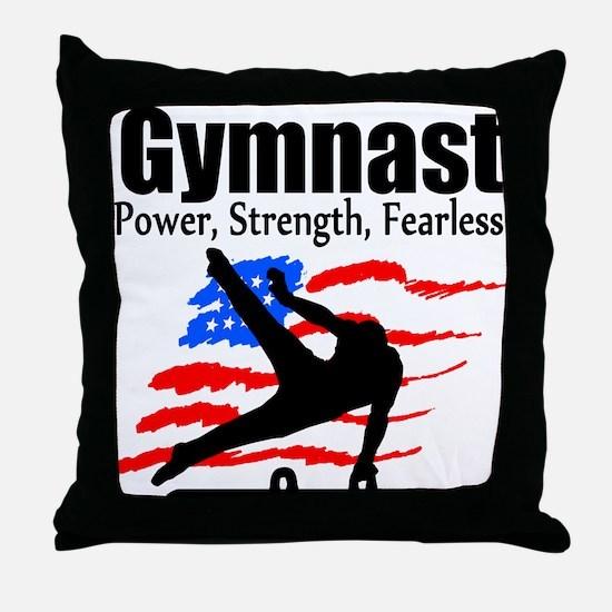 ALL AROUND GYMNAST Throw Pillow