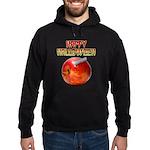 Happy Halloween Razor Blade Apple Hoodie