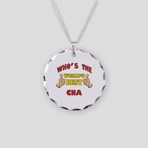 World's Best CNA (Thumbs Up) Necklace Circle Charm